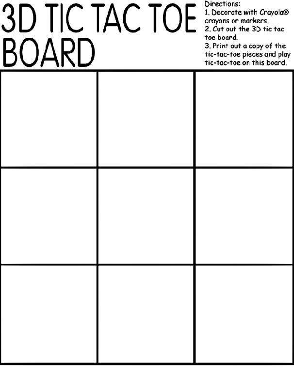 tic tac toe board coloring page learning letters by substituting x and o with other letters