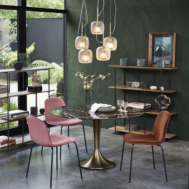 Suspension Grappe 5 Globes Mistinguett Deco Salle A Manger Table Salle A Manger Salon Art Deco