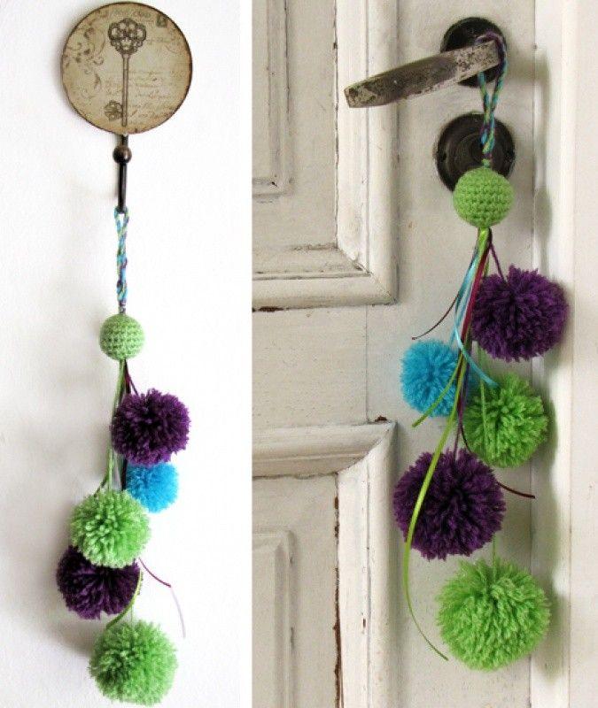 Simpticos y coloridos colgantes para picaportes o donde ms te guste! br / Colores a eleccin!