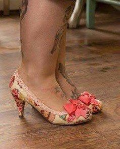 Ladies shoes, cupcake shoes, wedding shoes, tea party, afternoon tea rockabilly customised shoes, ladies low heel shoes, mid heel shoes