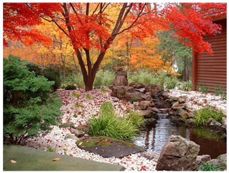 Japanese Garden Design With Beautiful Cherry Blossom Part 58