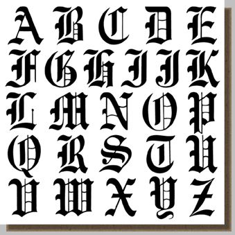 Tribal Letters For Tattoos Group Picture Image By Tag