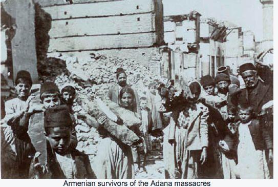 Armenian survivors of the Adana massacre