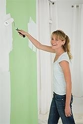 Instructions for Painting Over Wallpaper