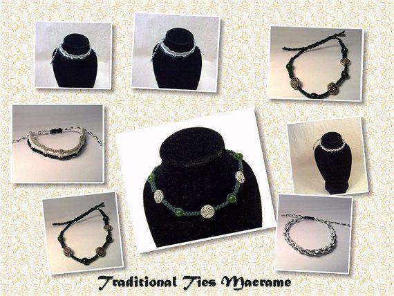3 Armband verse bos Micro Macrame Armband Set