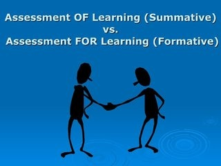 formative-assessment-vs-summative-assessment by jcheek2008 via Slideshare