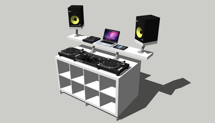 DJ TechTools  |  How To: Create a Professional DJ Booth from IKEA Parts.