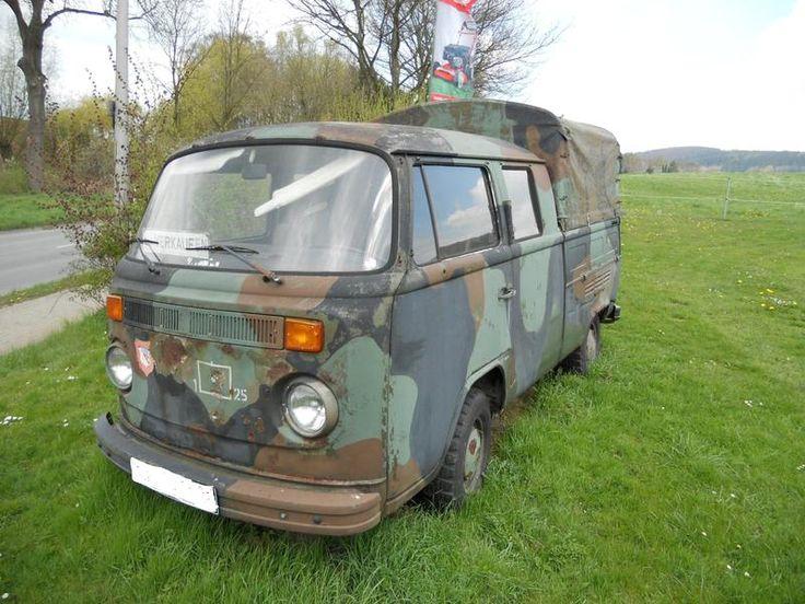 vw t2 bundeswehr | Biete: BW T2 Doka will den keiner retten - Militärfahrzeuge - multi ...