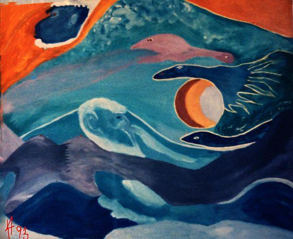 Way Beyond Life .Colette Hera  Guggenheim Paint switzerland 1993