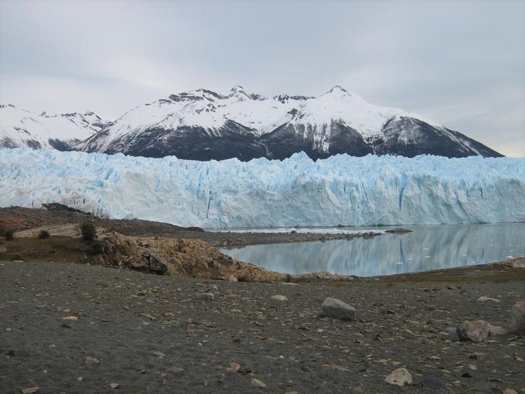 Perito Moreno Glacier in El Calafate, Argentina.
