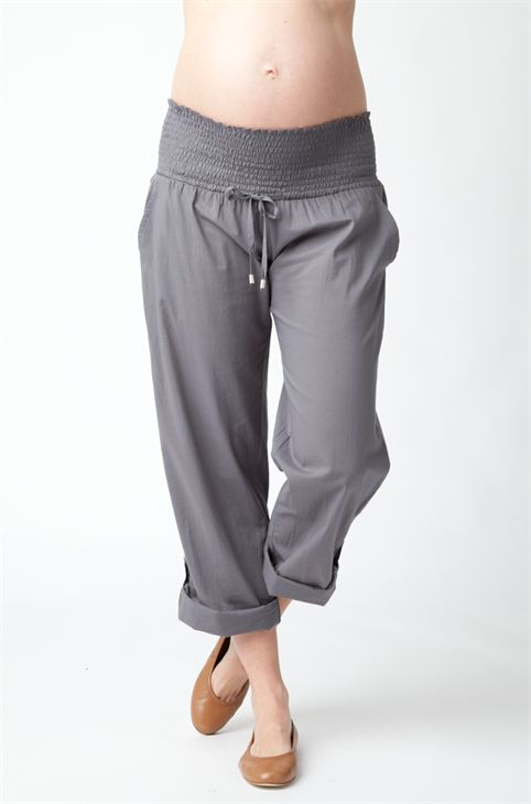 Ripe Maternity Summer Pant. These are SO comfy! #springmaternity #maternitypant