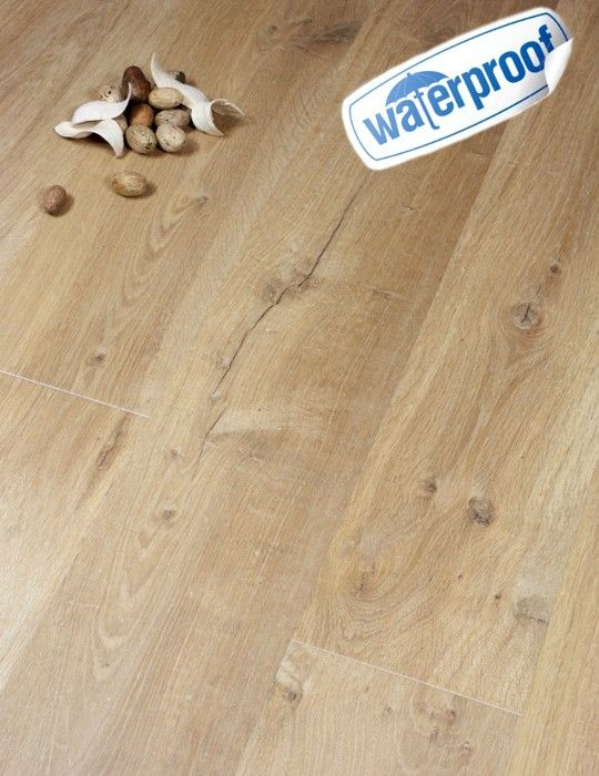 Quick Step Impressive Waterproof Bathroom Laminate Flooring Soft Natural  Oak 8mm