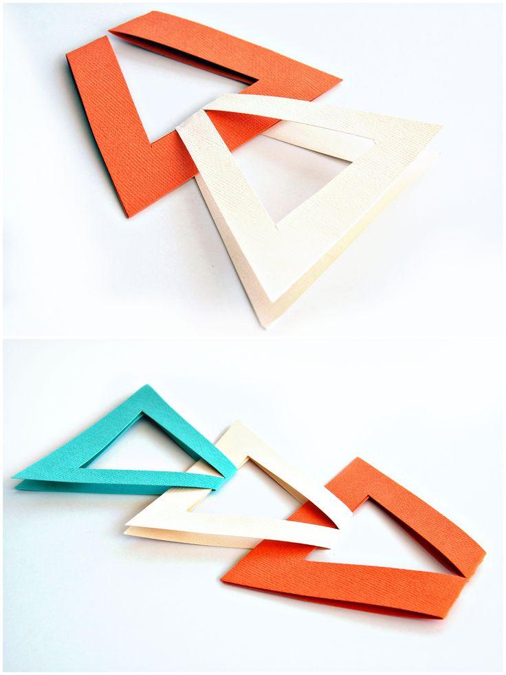 Triangle garland