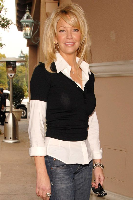 Oh No Heather Locklear Arrested For A Hit Amp Run Crash