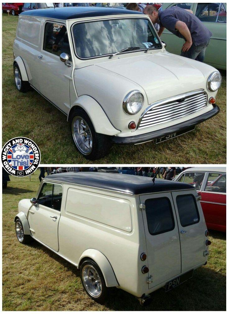 Sweet W.A.W Mini Van! Oh how I'd love me 1 of these for the WWWMini fleet.