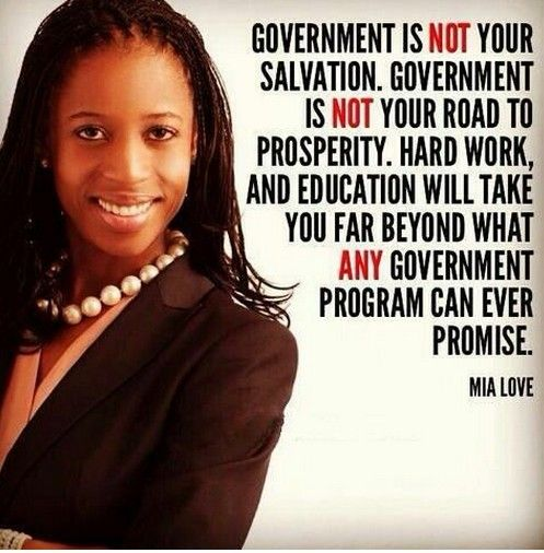 Mia Love, the first Republican black woman elected to Congress, on government.