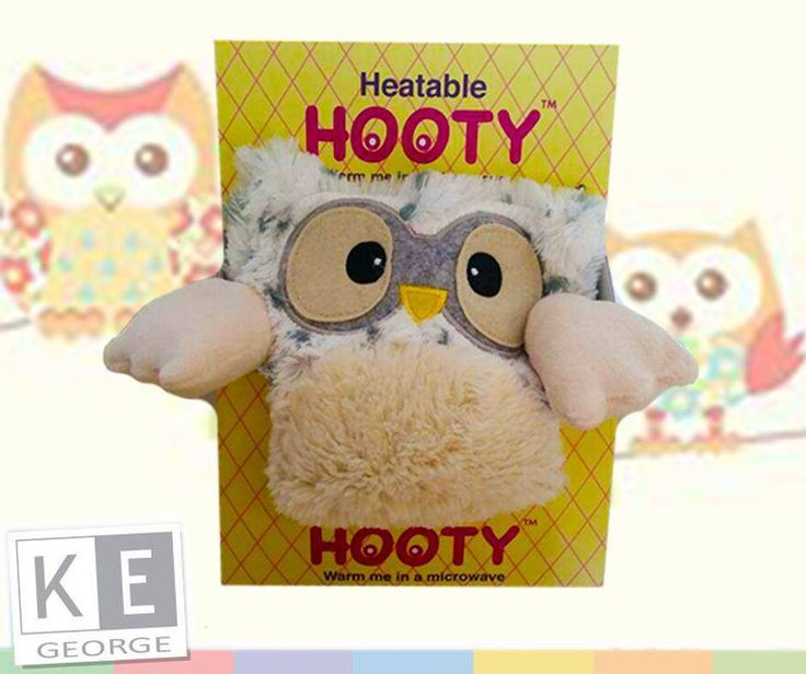 The #Hooty is a heatable soft toy that perfect for keeping baby entertained and warm on those cold #winter days. Available fro #KEGeorge , for more information call us on 084 790 3693 or visit us in store.11059356_1450717518567954_9211217861043935218_n.jpg (940×788)