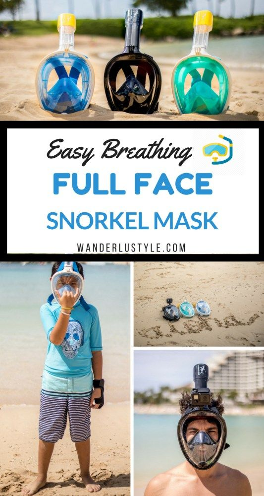 Full Face Snorkel Mask Review | Wanderlustyle.com