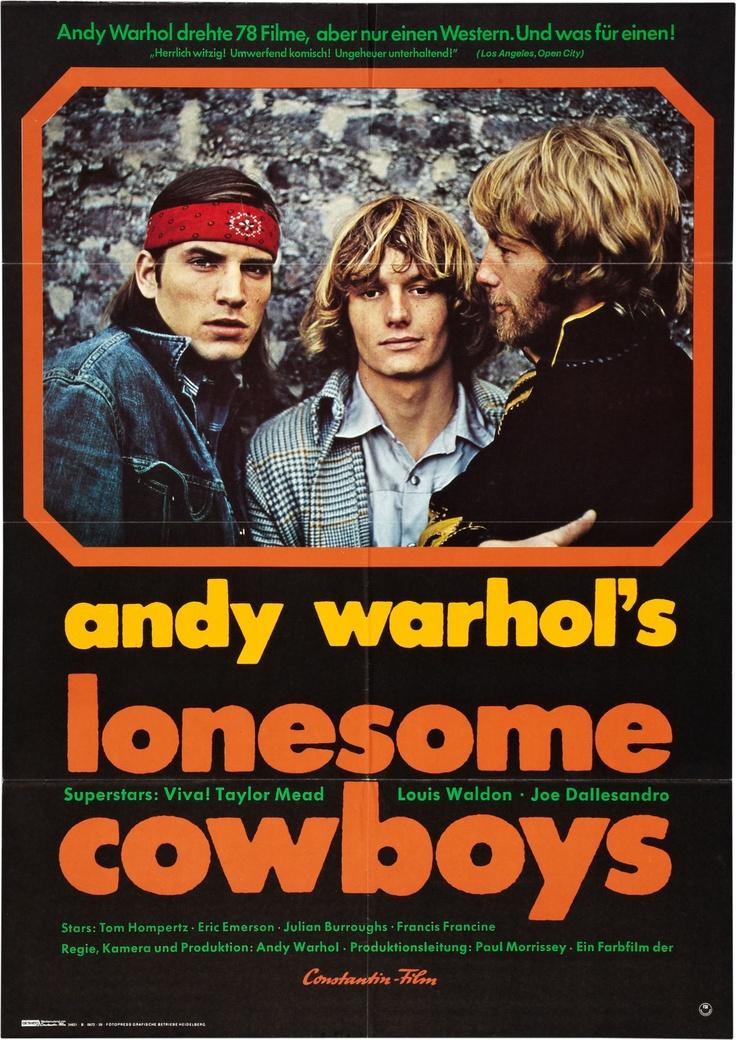 Andy Warhol's Lonesome Cowboys (1968) starring Viva!, Taylor Mead, Louis Waldon & Joe Dallesandro