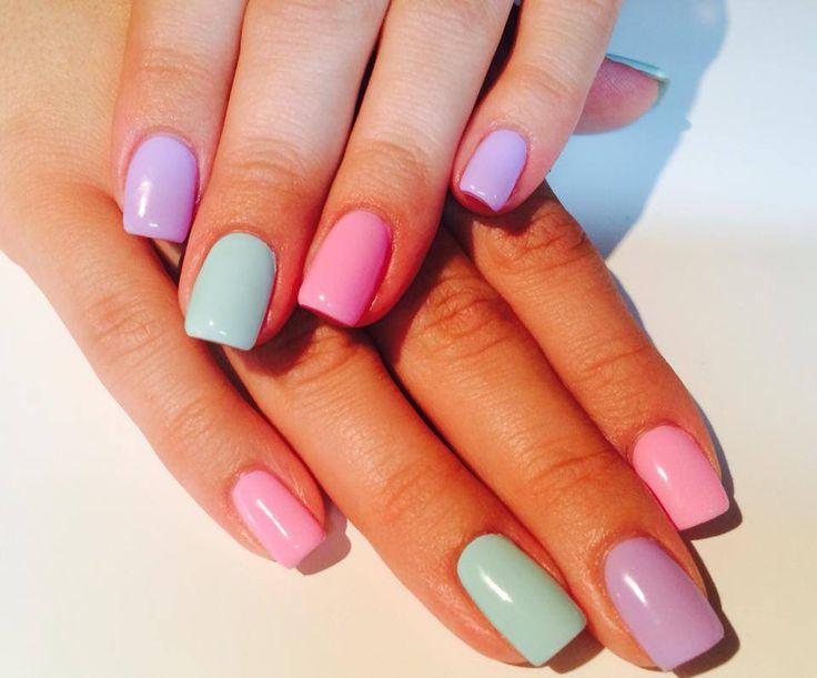 pastell nails  spring  nails