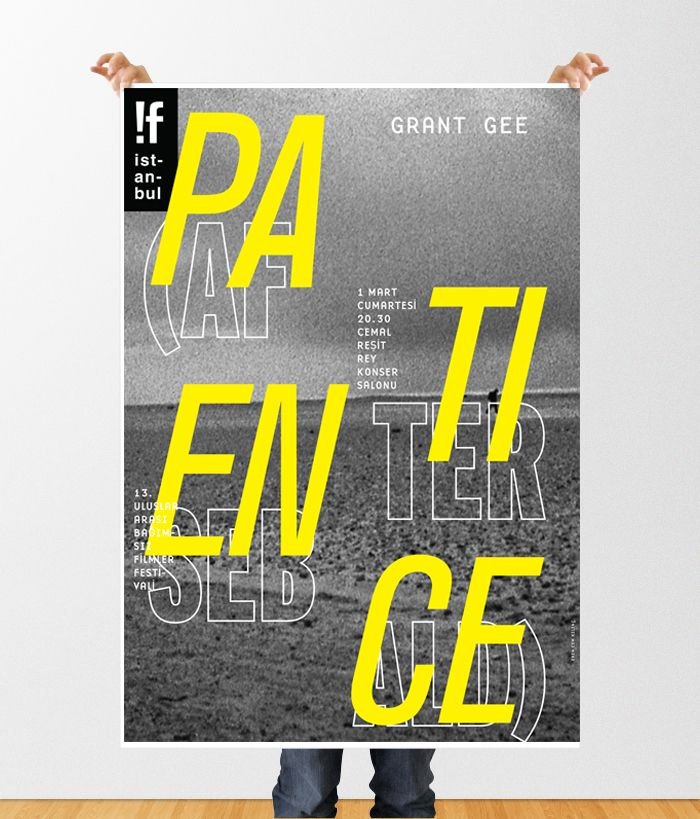 Patience(After Sebald) for !f Istanbul Film Festival