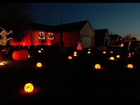2014 Halloween Light Show: Daft Punk By Pentatonix!