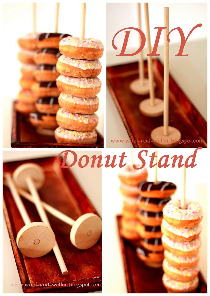 DIY Donut Stand