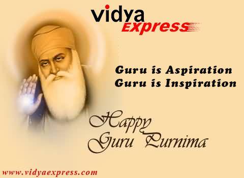 Be Greatful towards who Met you with yourself Wishes on guru purnima Happy Guru Purnima - www.vidyaexpress.com