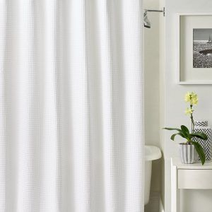 fabric shower curtains sears