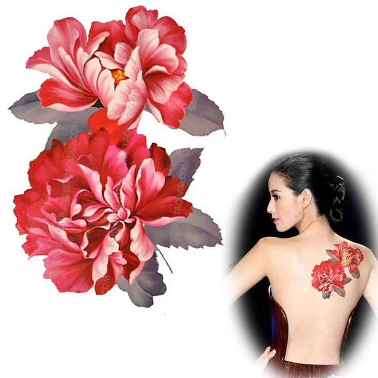 Beauty Leg Arm Back Fake Tattoo Figure Peony Flower Wholesale Latest  Large Temporary Tattoos Stickers MQA06,High Quality Tattoo Clothing for Women,China Tattoo Ink and Needles Suppliers, Cheap Tattoo Print From Your Shopping Time on Aliexpress.com
