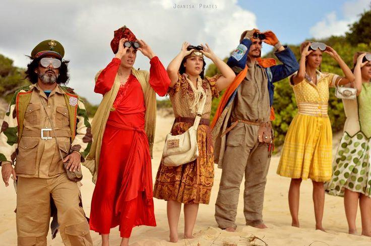Atores interpretam personagens fictícios inspirados em figuras reais de Natal.