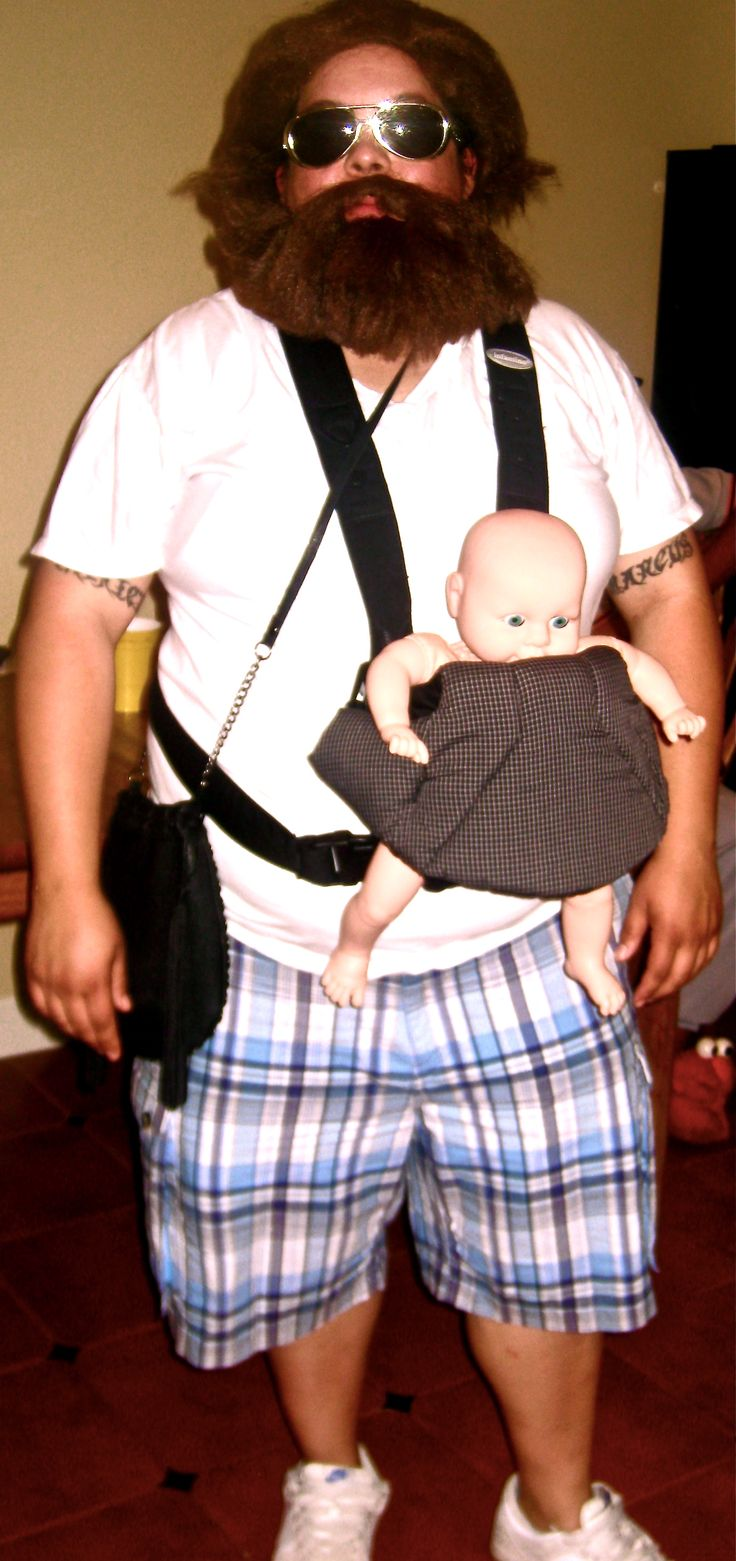 My cousin Camille obviously chose Alan from The Hangover and won Best Costume.