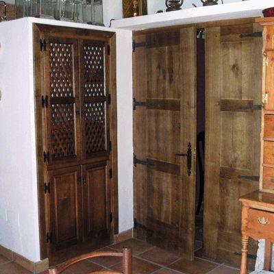 31 best images about puertas de interior on pinterest - Color nogal en madera ...