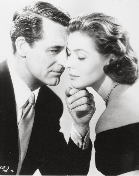 Cary Grant and Ingrid Bergman in Notorious