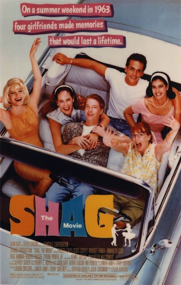 Shag (1989) | 25 Movies From The '80s That Every Kid Should See. Why it's still good: Because every girl needs a Myrtle Beach weekend. Be aware: Even though this movie is rated PG, there's a lot of adult (aka sexy) themes. The messages are great for teenagers, but not appropriate for younger kids. Notable performance: Annabeth Gish as Pudge, the most relatable character that ever was.