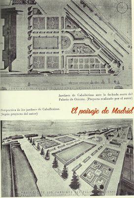 Los Trabajos de Jardinería de Fernando García Mercadal en Madrid http://elpaisajedemadrid.blogspot.com.es/2014/01/los-trabajos-de-jardineria-de-fernando.html