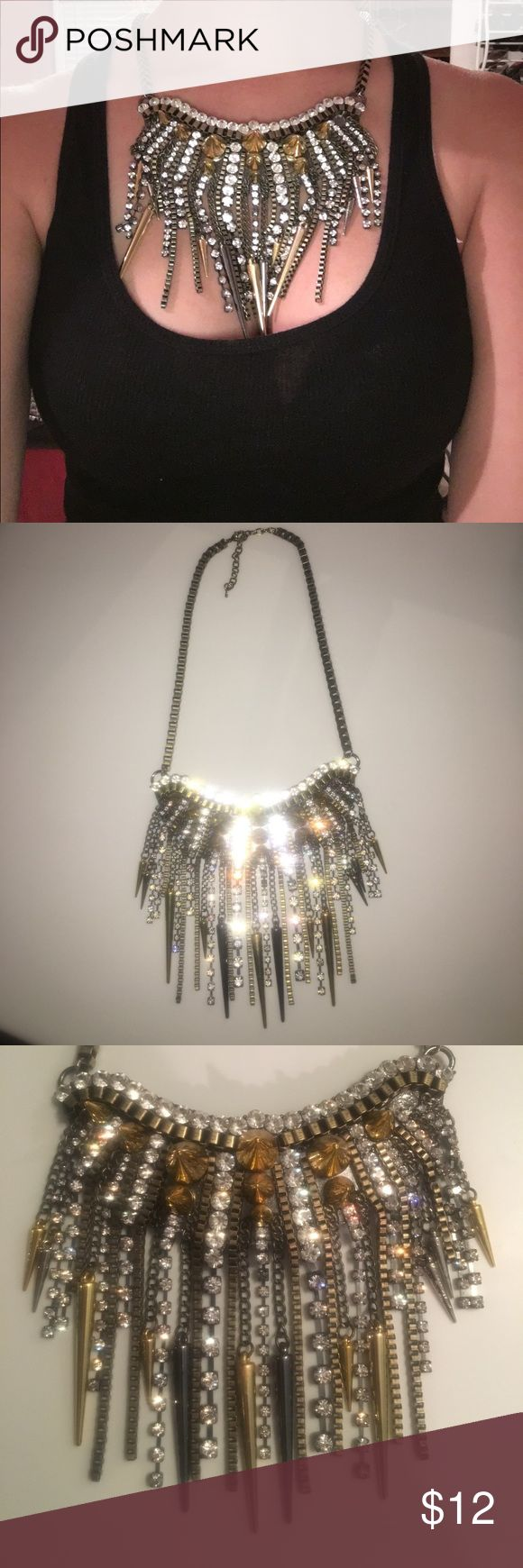 Prima Donna Statement necklace This statement necklace is perfect for a night out with the girls. It's elements of gold, metal, and green hues go perfect with any outfit. Vanderpump rules star, Stassi Schroeder wears the same one in Vanderpump Rules on Bravo. Prima Donna Jewelry Necklaces