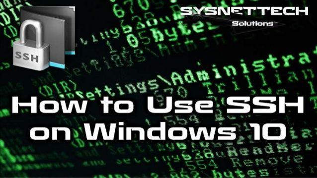 How to Install OpenSSH on Windows 10 | SSH ✅     install windows 10,   windows microsoft,   putty ssh,   ssh server,   generate ssh key,   openssh,   ssh command,   fix windows update,   ssh client,   ssh windows,   linux server,   generate ssh key windows,   ssh shell,   putty windows 10,   install ssh server ubuntu,   ssh access,   putty generate ssh key,