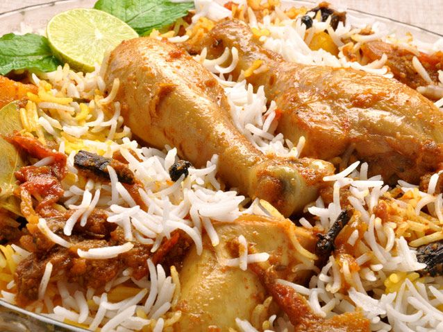 On EID,the Bakra Bazaar at Delhi's Jama Masjid is the biggest and best known to serve the Nawabi Biryani; a rich dish with dry fruits, aromatic spices and lots of meat.