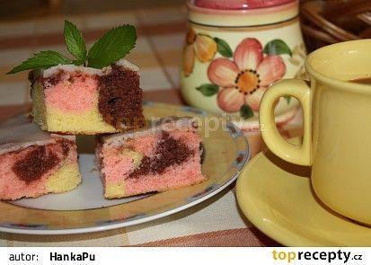 Barevný koláč
