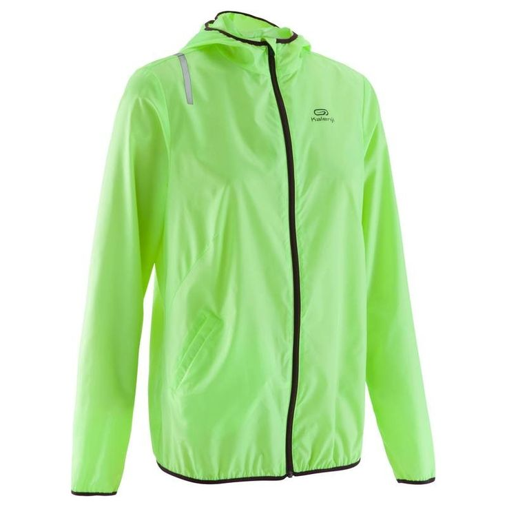 £9.99 - Jackets - EKIDEN LIGHT JACKET YELLOW - KALENJI