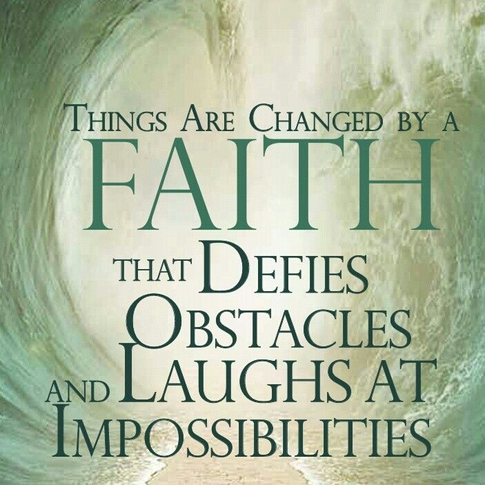 From Jesse Duplantis ministries March 2014 Covenant Magazine.  Awesome awesome truth.  God can turn your faith into a miracle ground shaking, devil stomping, holy spirit manifesting power..just only.believe that his word is all we need.