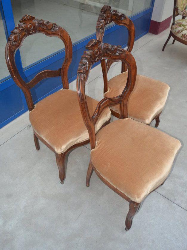 13 migliori immagini sedie dell 39 800 su pinterest luigi for Sedie in velluto