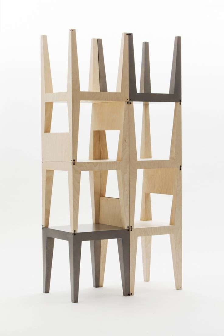 Oneness Modular Shelving By Kyuhyung Cho + Hironori Tsukue · Wooden FurnitureFurniture  ChairsFurniture DesignModular ...