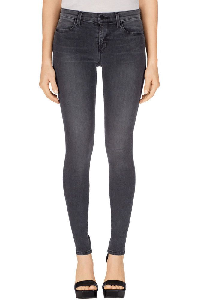 Cheap Low Cost Best Store To Get Sale Online J Brand Woman Cotton-blend Twill Skinny Pants Navy Size 25 J Brand c5CFy