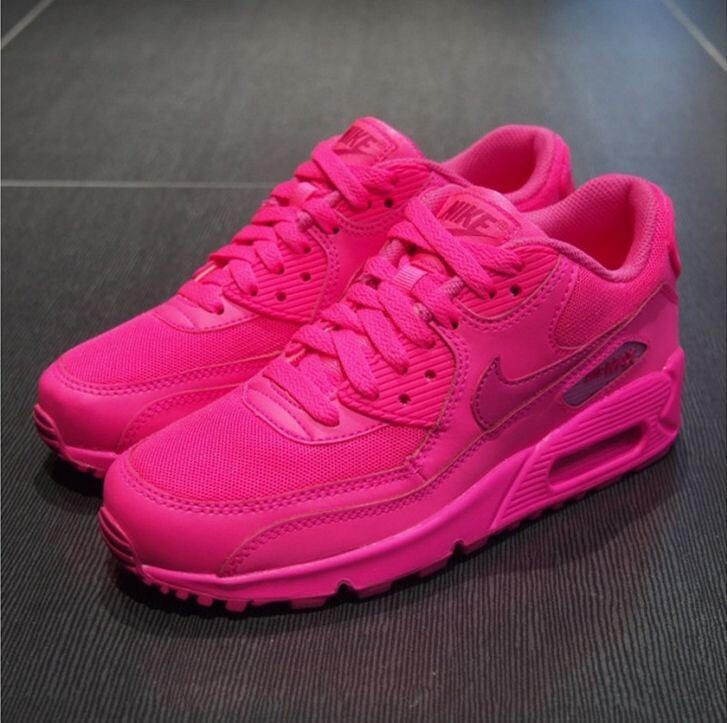 nike air max 2007 hyperfuse neon pink gr-392
