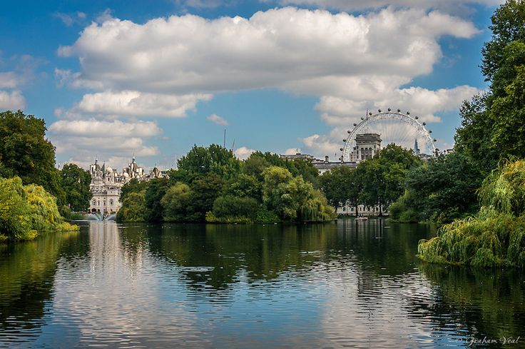 12 Secrets Of St James's Park - Including the lake that wasn't a lake for six years.