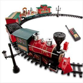 """Includes locomotive, coal tender, skating carol car, caboose, box car, 12 curved tracks, 10 straight tracks, 2 lamp posts, and remote-control Characters include Mickey, Minnie, Donald, Daisy, Goofy, Pluto, Chip, Dale, Stitch, Tinker Bell, and Duffy Locomotive 7"""" H x 4"""" D x 11"""" L, Cars up to 10"""" L Product Features Disney Park 30 […]"""