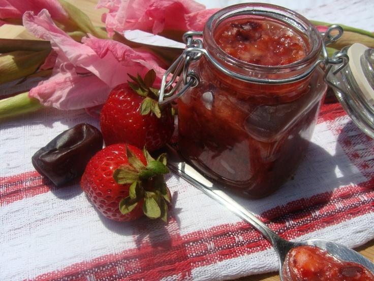 Les 32 meilleures images propos de crufiture pate - Confiture de fraise maison ...
