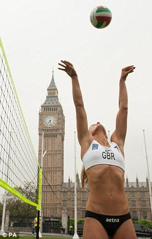 Countdown: The beach volleyball competition runs from July 28 to August 9